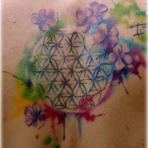 Tattoo: Die Blume des Lebens